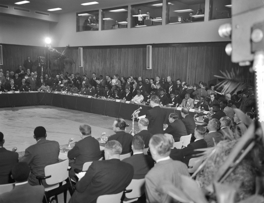 Belgian — Congolese Round Table Conference January 1960 —  C/O Nationaal Archief