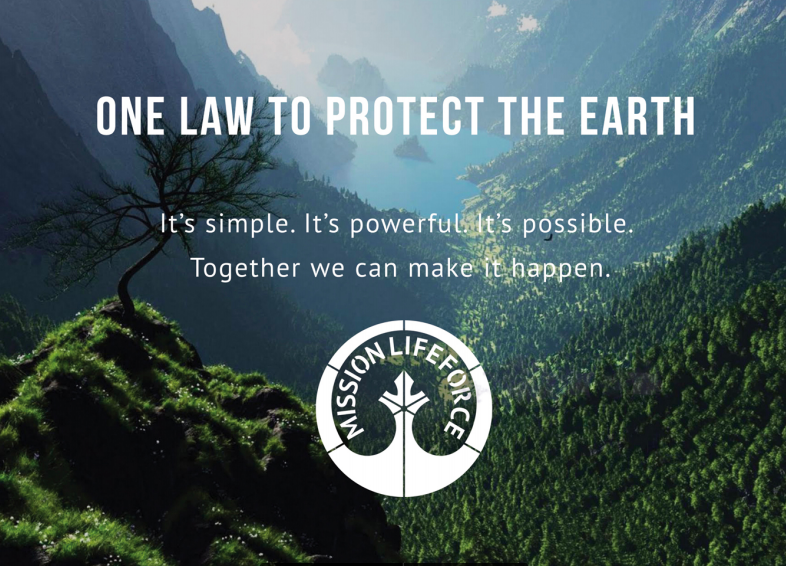 PDF BROCHURE -email this link to your friends... or use as a prompt to give a short talk about Mission LifeForce in your local environmental group -