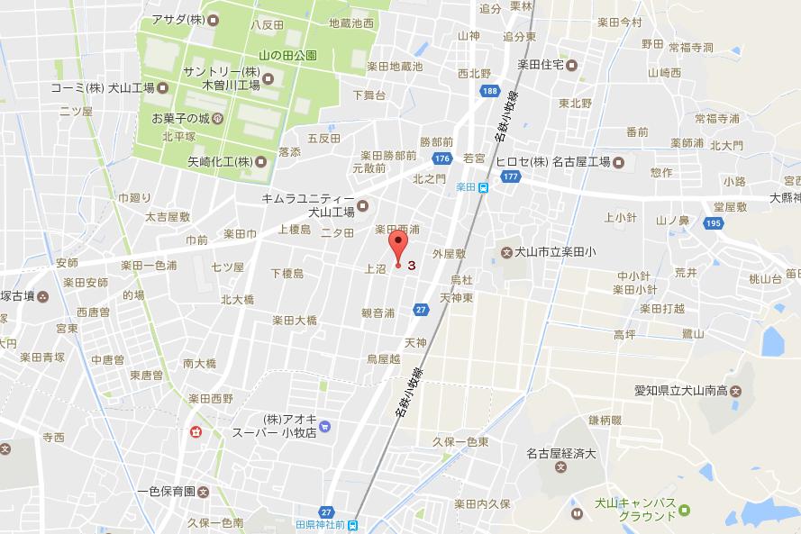 愛知県犬山市 横町 -
