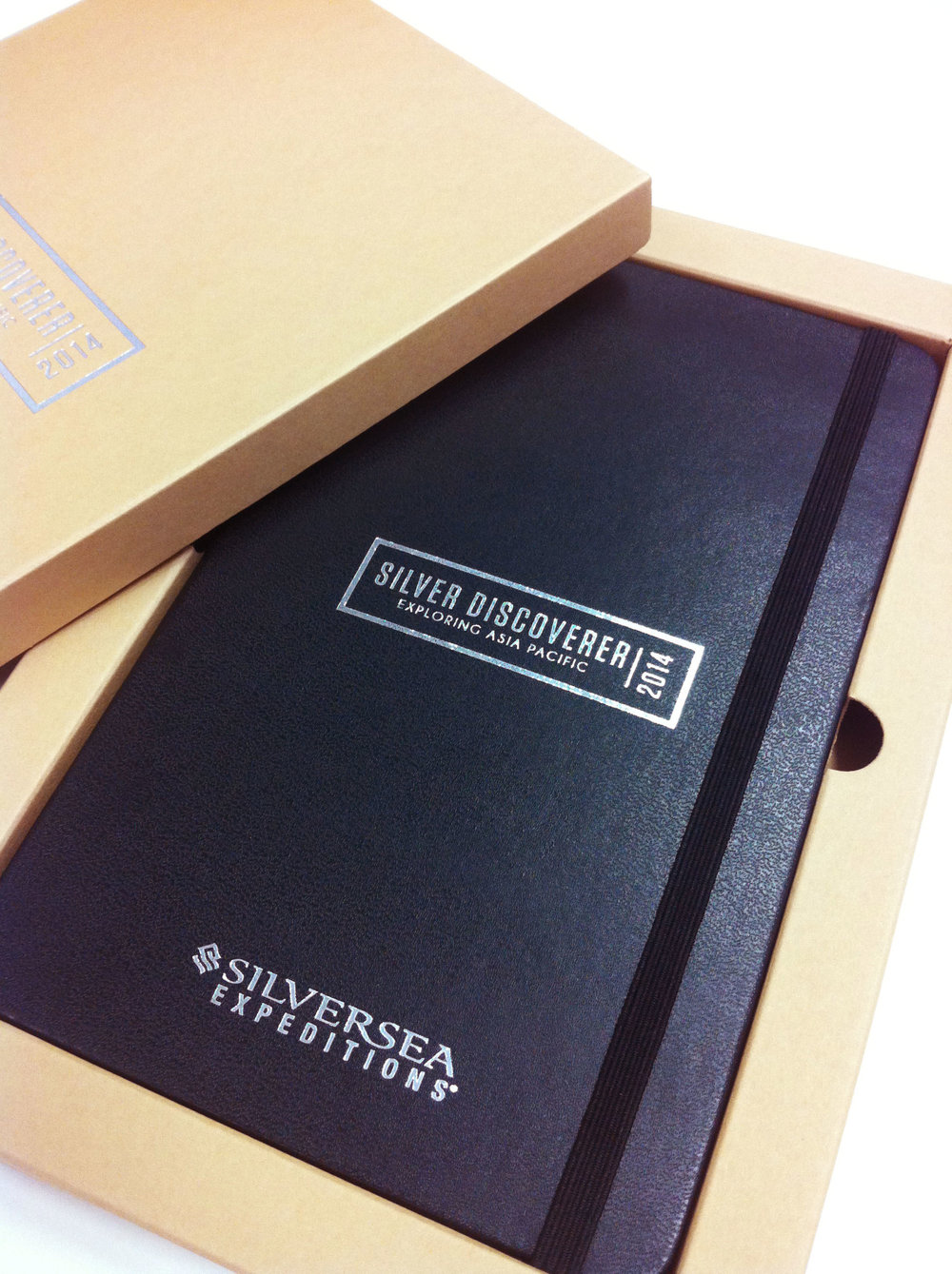 Packaging We can provide you with a Moleskine inspired gift box which your logo, tagline or design can be printed on ... Read more