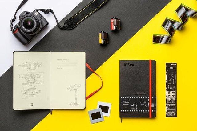 NIKON Moleskine Custom Edition #moleskine #nikon #notebooks