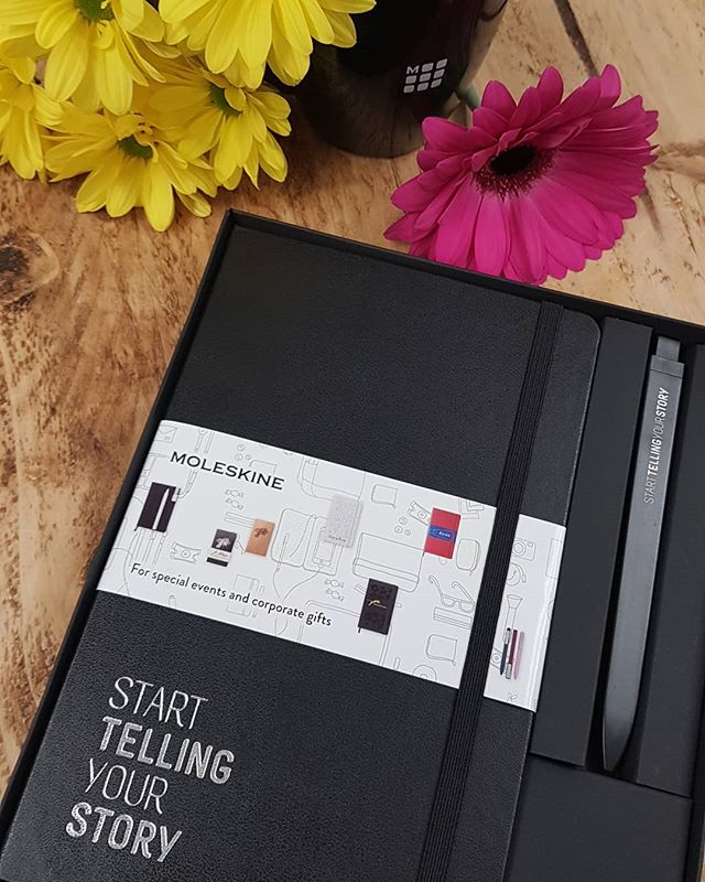 Start telling your story... #Moleskine #notebooks #corporategifts