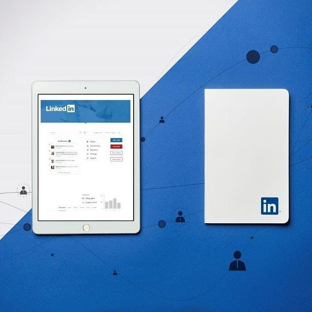 Branded Volant #Moleskine for #linkedin