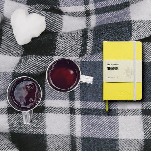Branded #moleskine #notebooks #thermosbrand