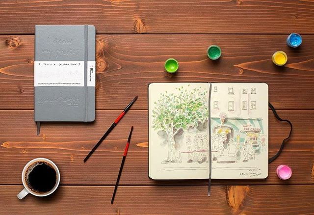 Grey #branded #moleskine #notebooks #debossed