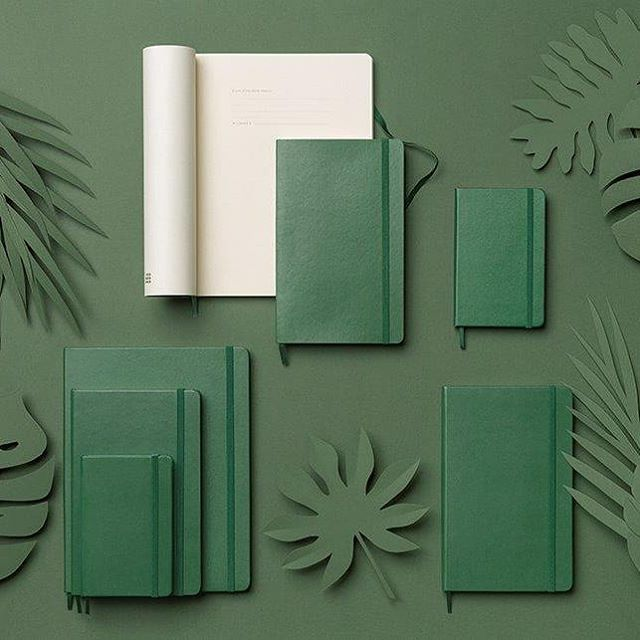 We love the new #Moleskine Myrtle Green #notebook. Do you?