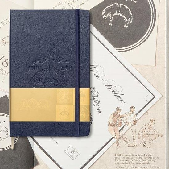 #Moleskine for #brooksbrothers