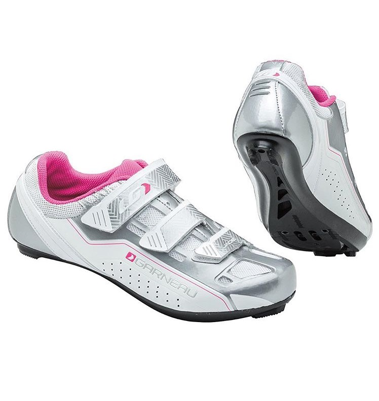 Women's Louis Garneau White Jade Spin shoes with SPD cleats  Code Product : F01  Available Sizes: 37, 38, 39, 41  Price : IDR. 2.498.980