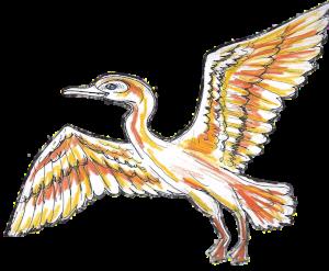 Kōtuku (the white heron)