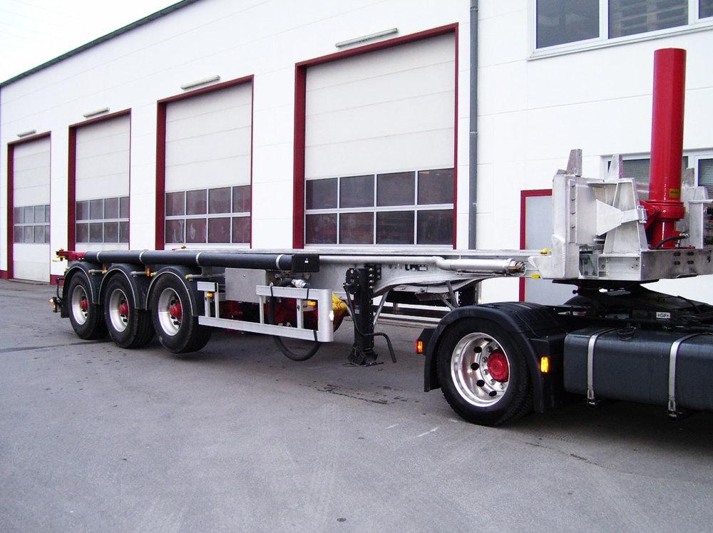 Châssis porte-conteneurs basculant - Conteneur 30 pieds