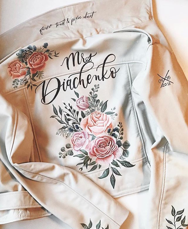 Is it the long weekend yet? 🙈 check out this beautiful wedding inspired jacket we found as inspiration 😍