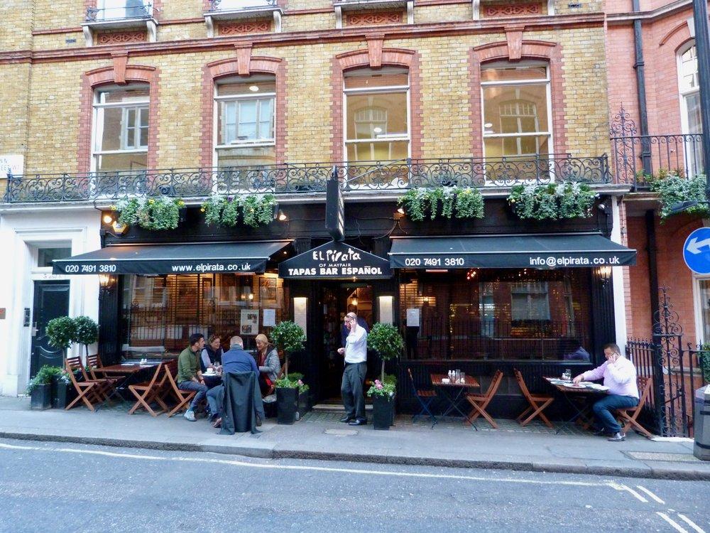 Secret Mayfair. A fine restaurant off the beaten track.