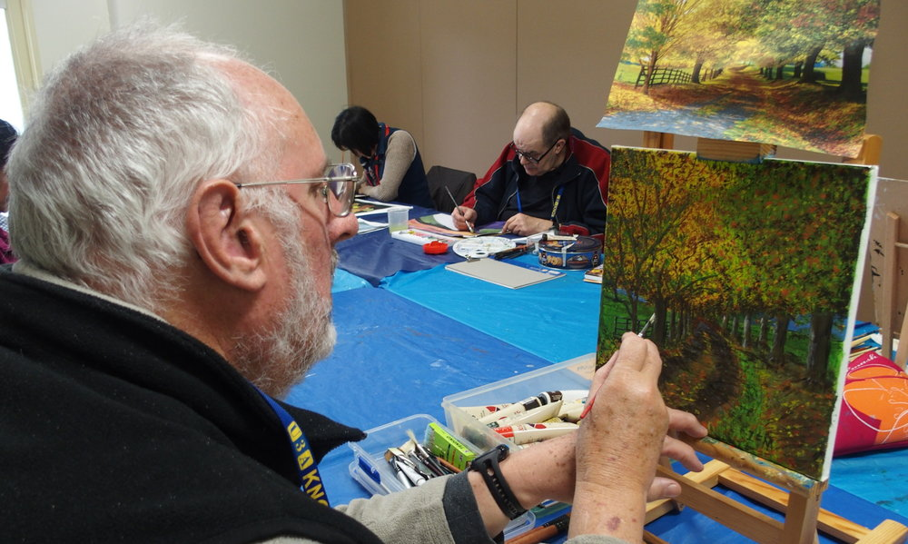 Photo credit: Dianne McCormack - U3A Knox 'Knox Acrylics'