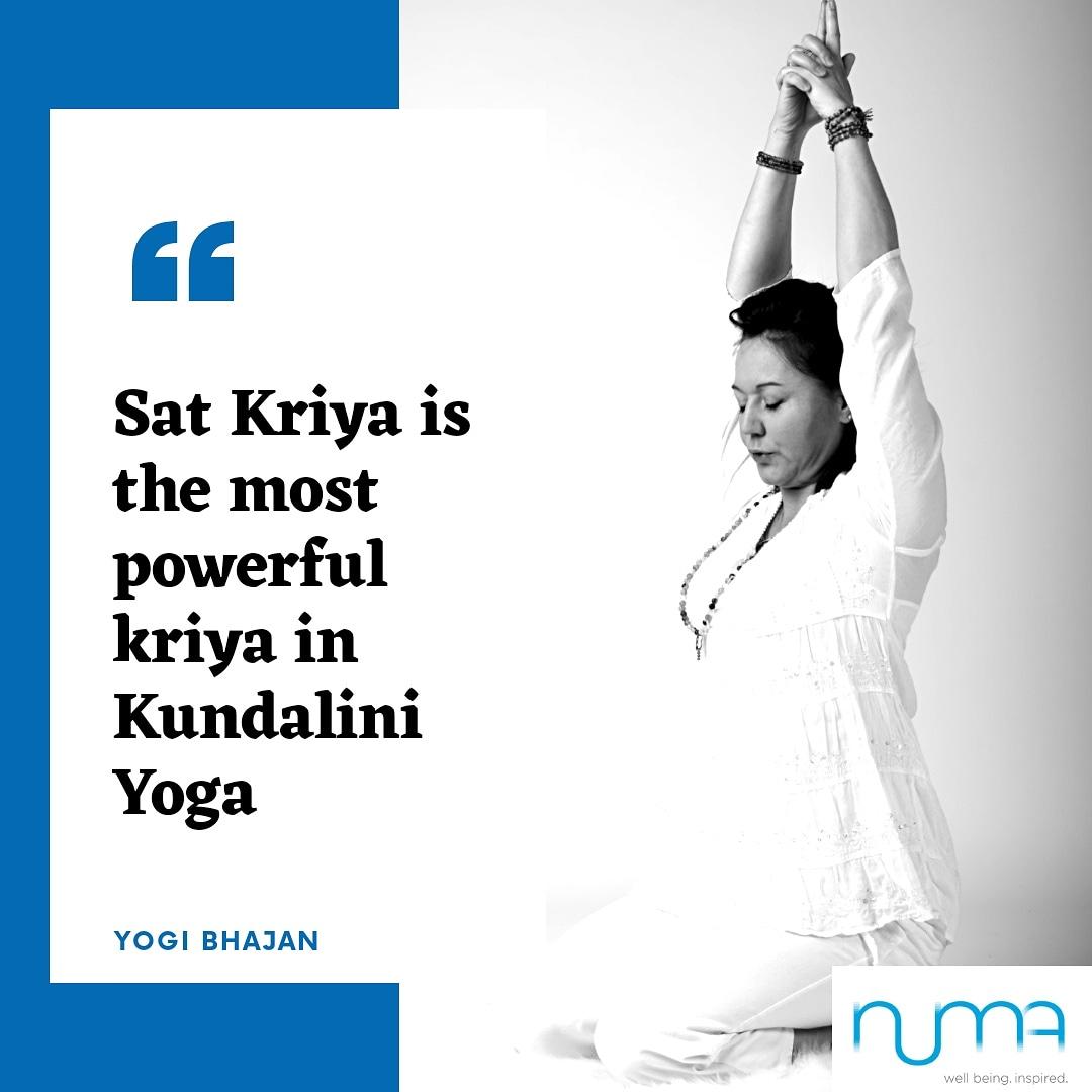 Kundalini Yoga and Sat Kriya — Numa