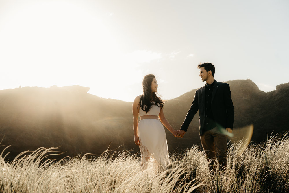 Had a photography session with Jacki and Ernie, While they met at a hiking meeting group they had travelled to many places together. They got engaged in Mt Everest. They have found me through google to do their engagement shoot. Hope they hire me as their  Wedding Photographer  as well. This was shot at  Piha beach , Auckland during sunset as the light is just outstandingly soft. If you are looking for a  wedding photographer in Auckland  I'm the one.