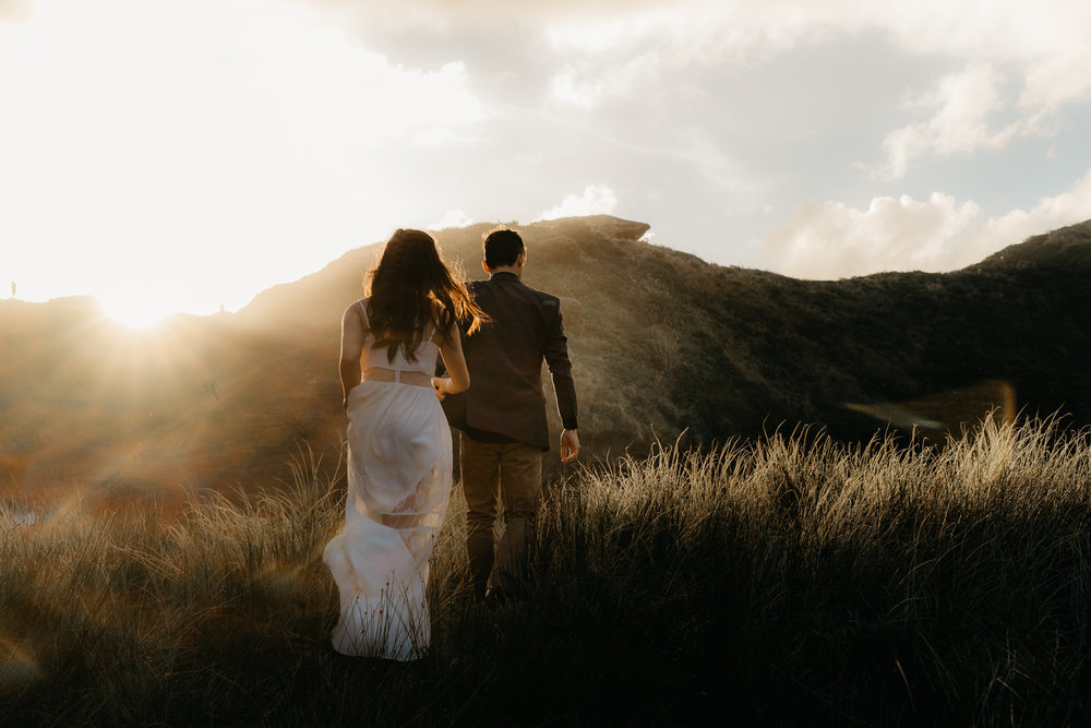 Top Auckland Palmerston North Wellington NZ Photographer New Zealand Wedding Elopement Destination Candid Special Wedding Photographer Photography Couple Engaged Engagement Shoot Love Piha Beach