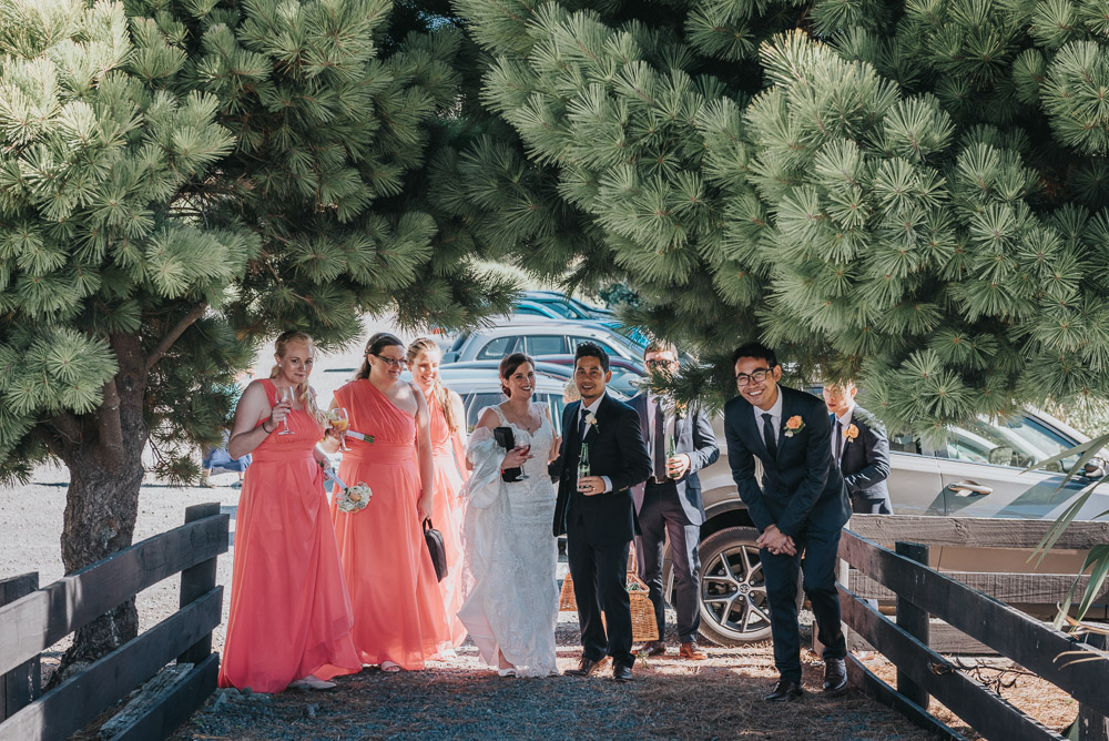 Wedding photography - Ohariu Farm, Wellington