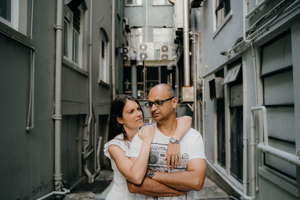 Auckland CBD Engagement Photography Session