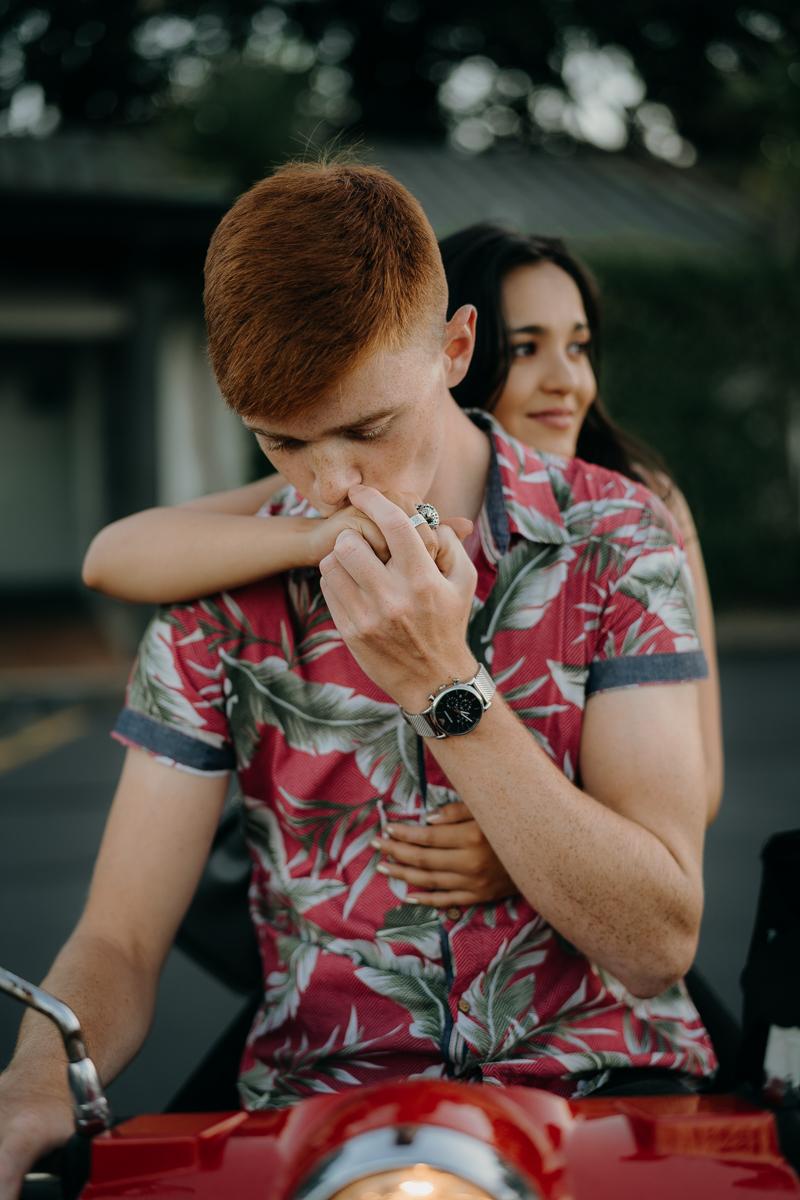 Auckland valentines Couple photoshoot