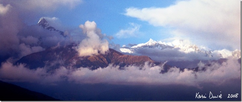 Himalayan cloudscape - Colour