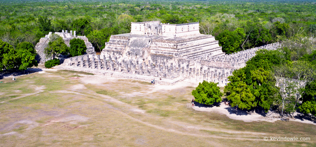 Templo de los Guerreros (Temple of the Warriors) Chichen Itza