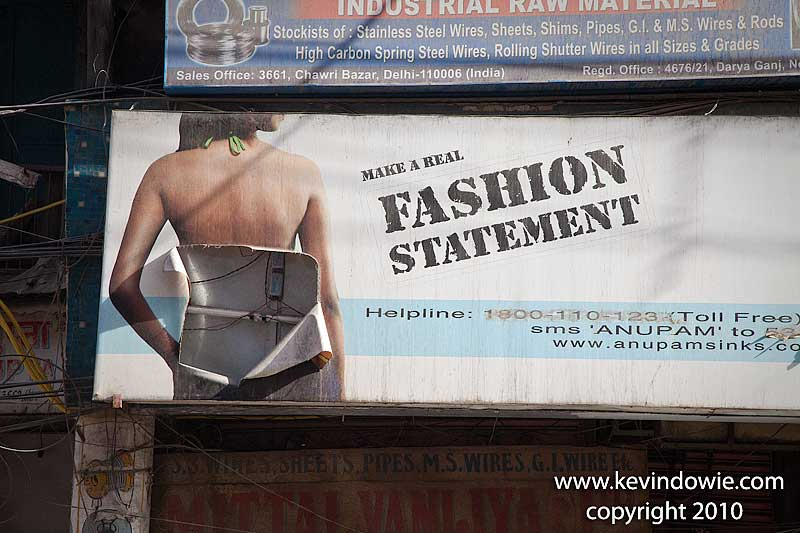 Fashion statement, Delhi.