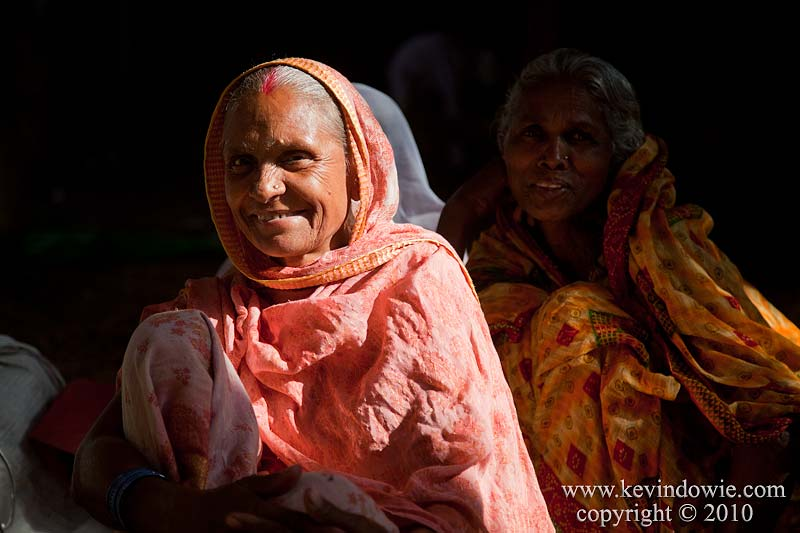 Two women, Haridwar, India.