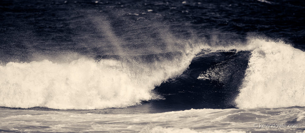 Breaking wave, North Shore, Maui.