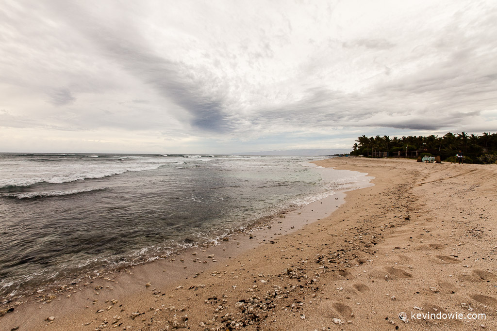 Beach and clouds, Kukio Beach