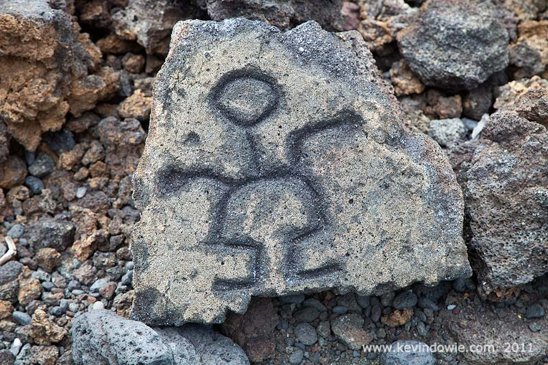 Petroglyph, Puako, Big Island, Hawaii. (2)
