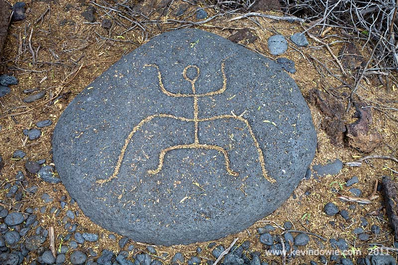 Petroglyph, Puako, Big Island, Hawaii. (3)