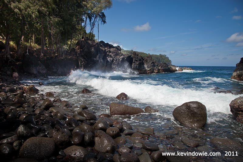 Rocky Beach, Laupahoehoe Point, Hawaii.
