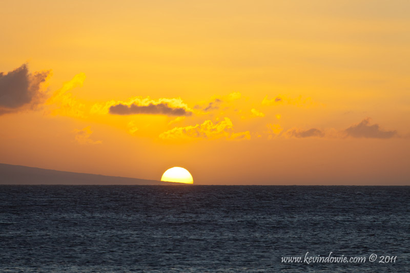 Ka'anapali Beach - Sunset