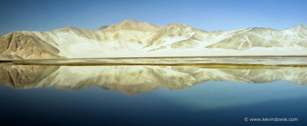 Lake Karakul, Xinjiang Provence, China.