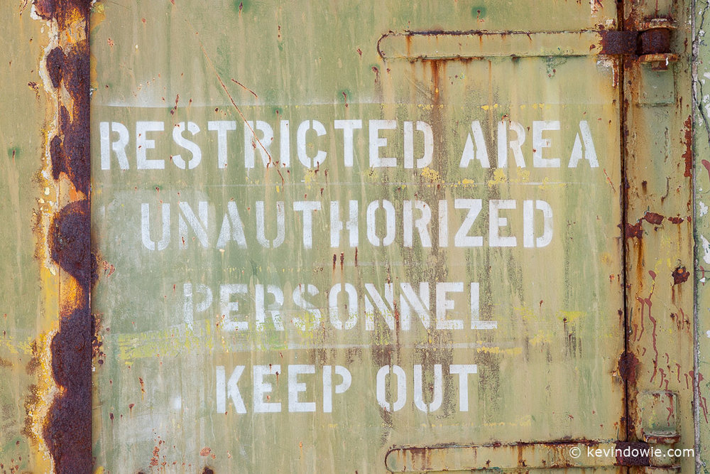 Restricted area, Midway Atoll