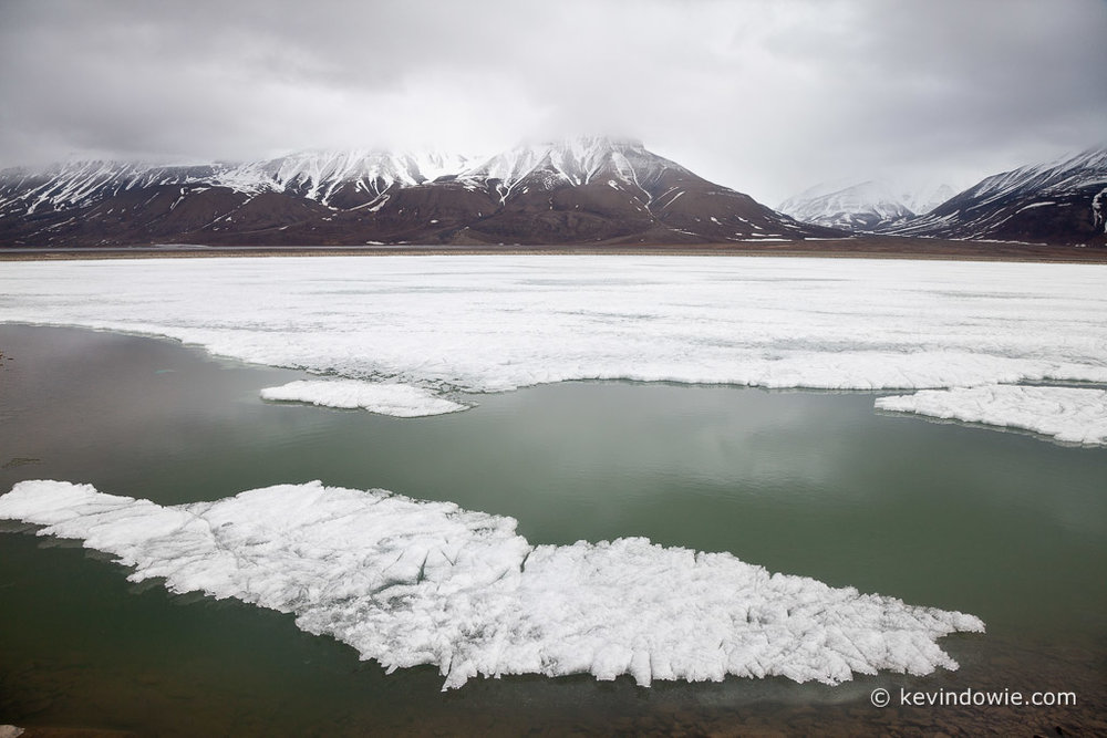 floating ice, Svalbard