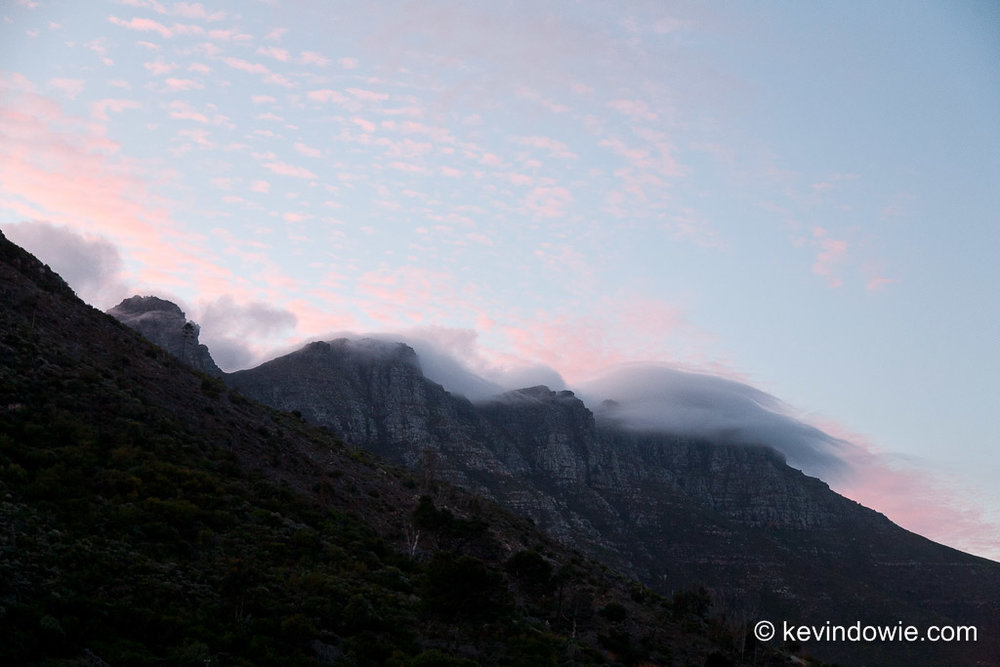 Early morning near Hout Bay, South Africa