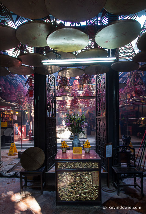Interior Tin Hau Temple