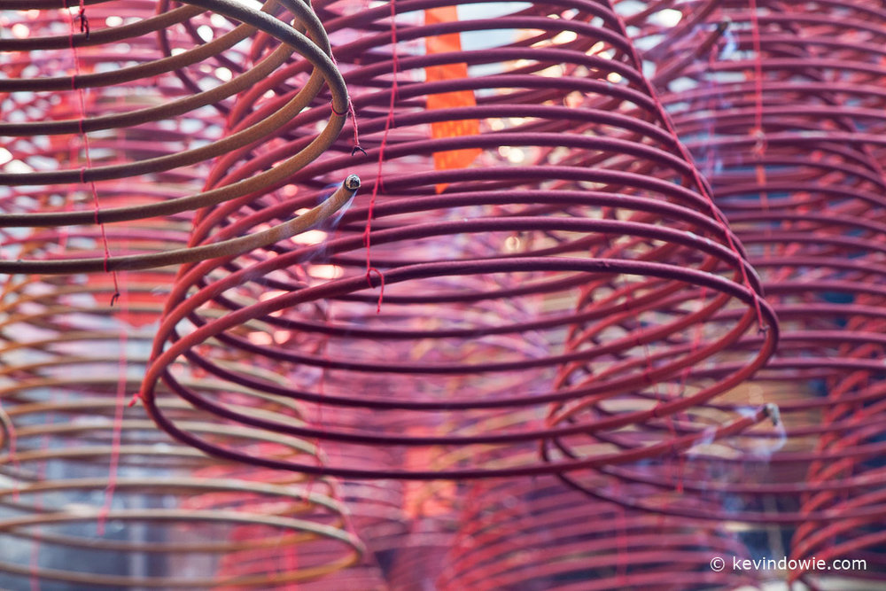 Incense spirals, Tin Hau Temple