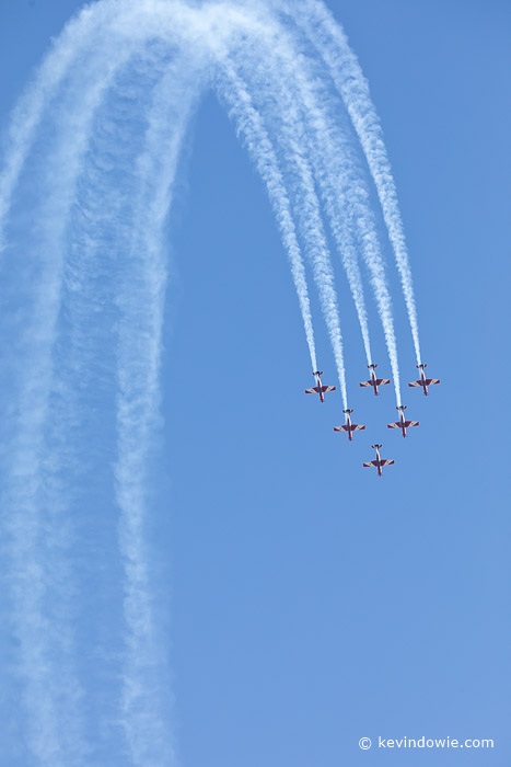 RAAF Roulettes display team.