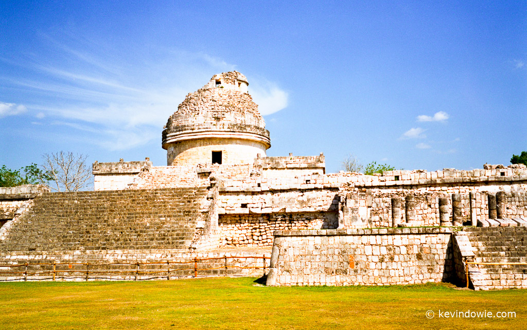 "The ""El Caracol"" observatory temple. Chichen Itza"