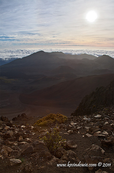 Rising Sun, Haleakala National Park.