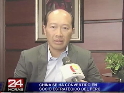 Perú se convierte en uno de los países preferidos por China para invertir   -24 Horas, Panamericana, 16/04/2014   Entrevista a José Sam sobre las inversiones chinas en el Perú, en el programa 24 Horas de Panamericana Televisión.    Seguir leyendo