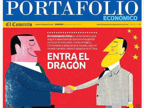 El renacimiento chino y sus implicancias:Entra el dragón   -El Comercio, 05/01/2013   El Comercio y SinoLatam Forum convocaron a una mesa redonda aprovechando la visita a Lima de David Gosset.    Seguir leyendo