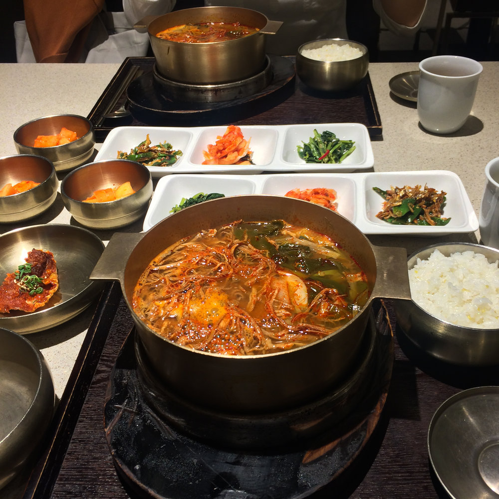 Yukgaejang (육개장), spicy beef soup