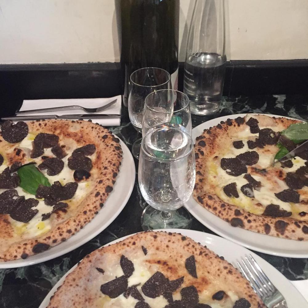 Pizza at Da Graziella  Photo: Courtesy of Pierre Touitou