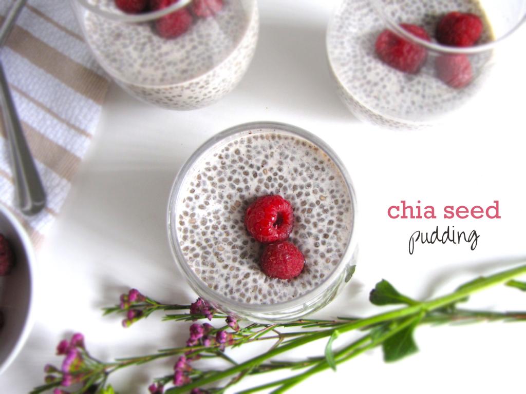 CHIA SEEDS,  PUDDING,  VANILLA, CUSTARD/PUDDINGS, gluten free, vegan, vegetarian, healthy, gluten-free recipe, vegan recipe