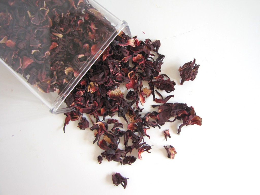 Agua de Jamaica Hibiscus tea
