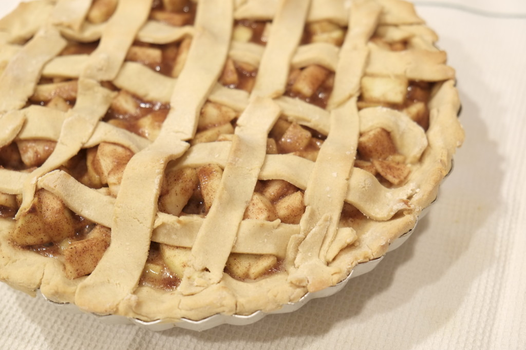 cardamom apple pie