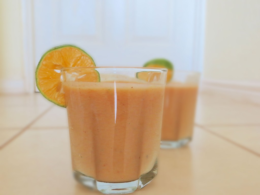 papaya pineapple smoothie